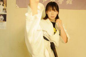 芦原会館 西山道場の菊川結衣選手のDVDは見たほうがいい!